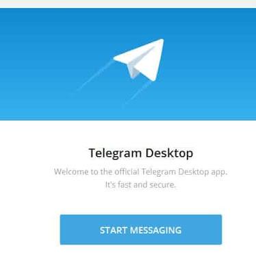 cara membuat akun telegram di laptop windows 10