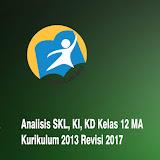 Analisis SKL, KI, KD AKidah Akhlak Kelas XII MA Revisi 2017