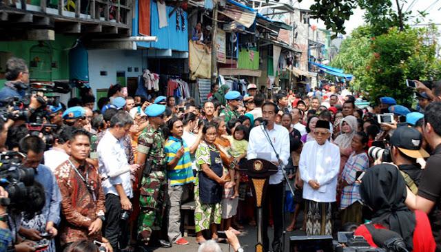 Cerita di Balik Pidato Kemenangan Jokowi di Kampung Deret