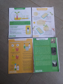 lembar petunjuk penggunaan dan perawatan hidroponik