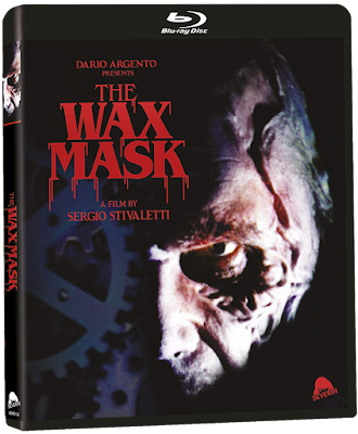 Cover art for Standard Edition of Severin Film's THE WAX MASK.