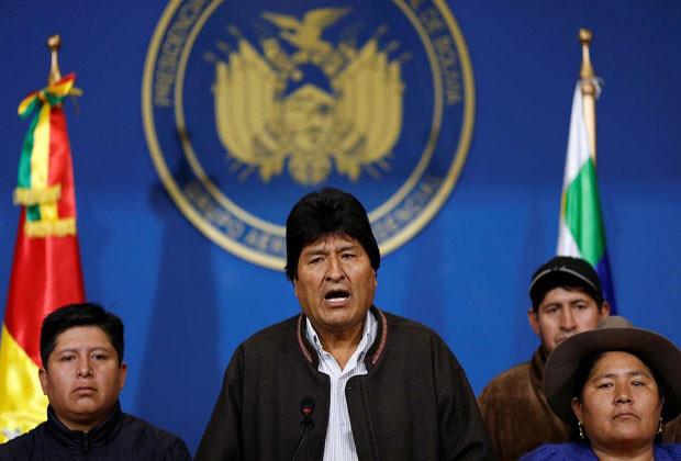 Presiden Bolivia Mengundurkan diri karena Lakukan Kecurangan Di Pemilu