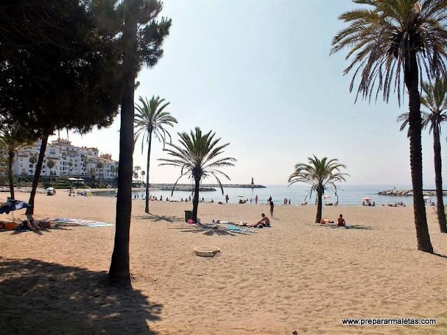 mejores playas en Costa del Sol Marbella