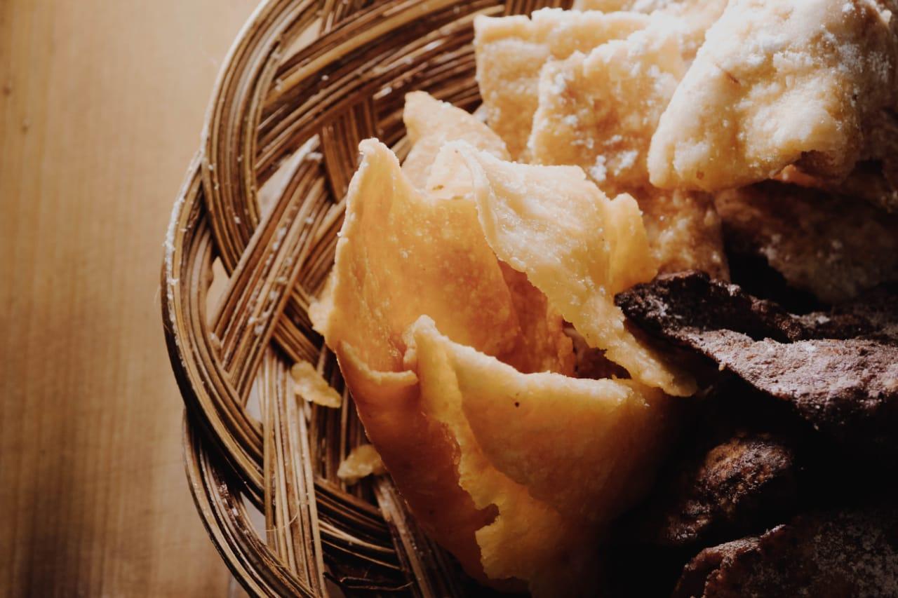 Pikyeum Maranti - Pelopor Keripik Peuyeum Bandung gabungan 3 varian rasa