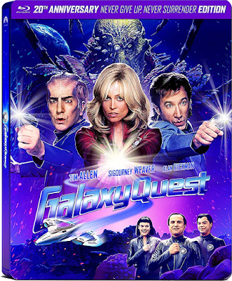 Artwork for the 20th Anniversary Steelbook of GALAXY QUEST!