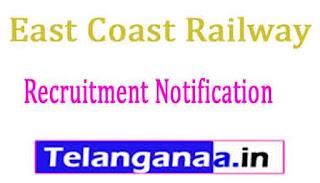East Coast Railway Recruitment Notification 2017