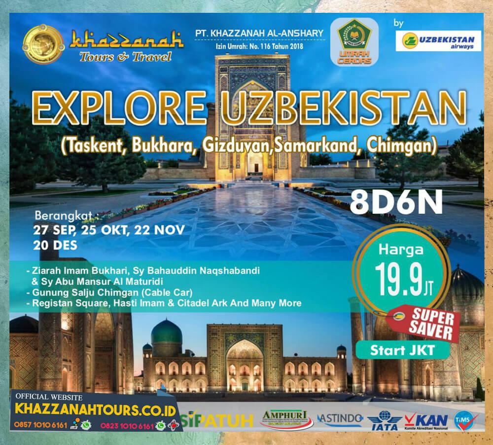 Explore Uzbekistan Tour