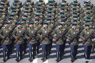 tentara pria rusia