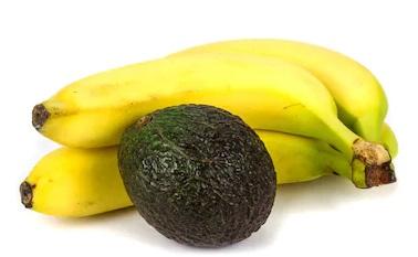 Banana Avocado good for dry skin