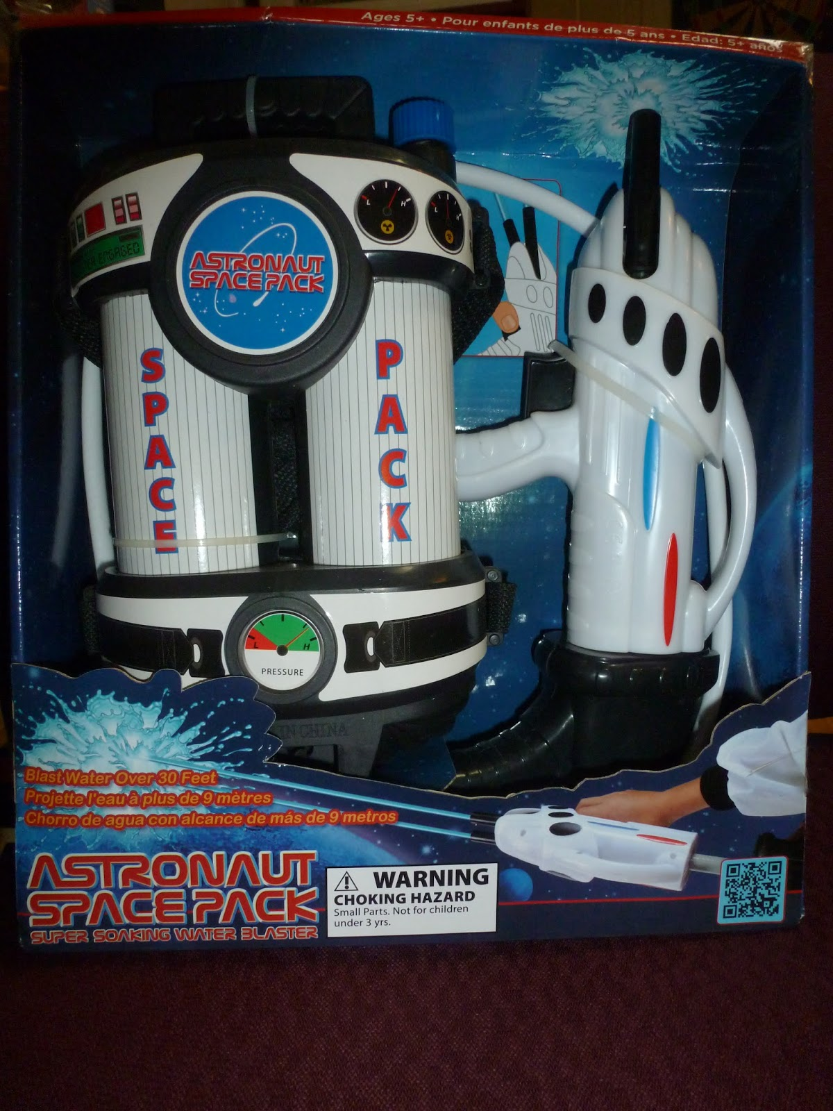 astronaut space pack water blaster - photo #8