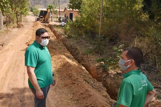 Bairro Serra Dourada recebe expansão de rede de fornecimento de água