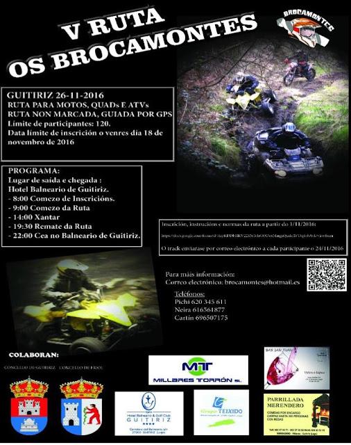 V RUTA OS BROCAMONTES GUITIRIZ 26/11/2016