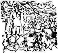 একুশে ফেব্রুয়ারি সংকলন সম্পাদক হাসান হাফিজুর রহমান অলংকরণ মুর্তজা বশীর লিনোকাট