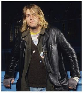 Gambar Jaket Kulit Kurt Cobain Nirvana