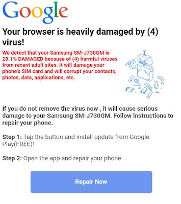 3 Cara Menghapus Google Redirect Virus dari Android