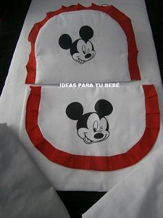 Sábanas Capazo Mickey