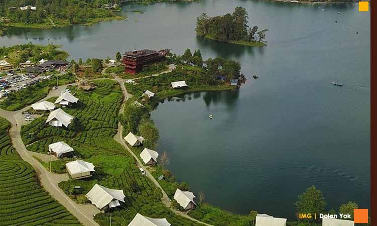 Daya tarik wisata ciwidey glamping lakeside resort
