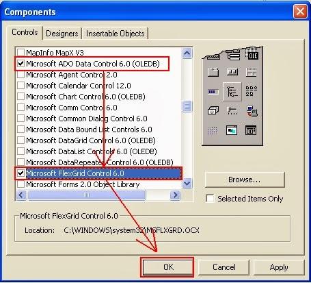 Cara Menampilkan Data Dari Tabel Ke MSFlexGrid Di Visual Basic 6.0