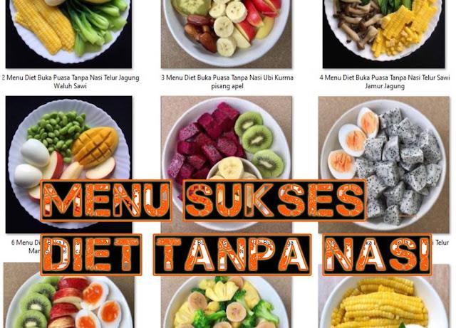 menu sukses diet tanpa nasi