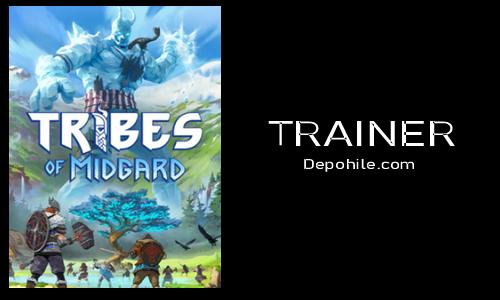 Tribes of Midgard PC Oyunu Can, Exp Trainer Hilesi İndir 2021