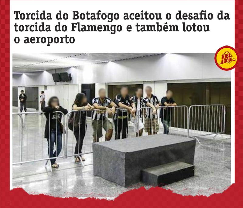 Imagens zuando o Botafogo