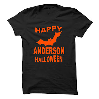 t-shirt anderson happy halloween