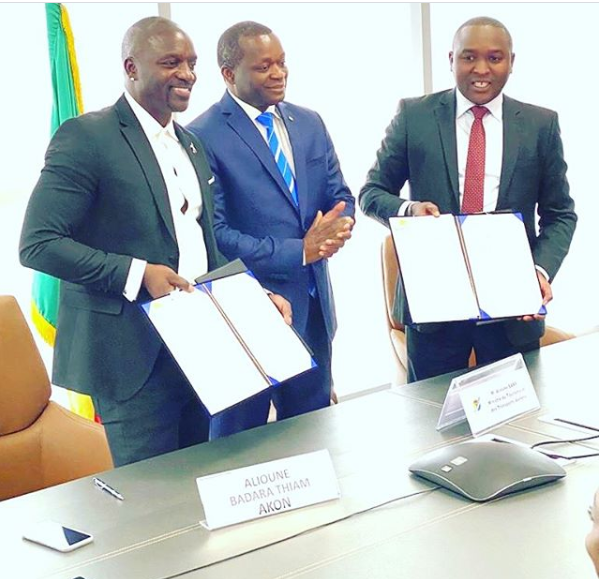 Akon announces finalization of the agreement for Akon City in Senegal