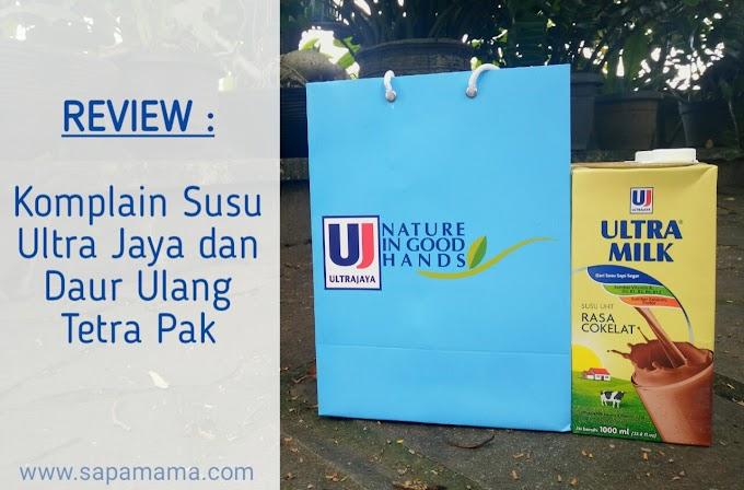 Review Komplain Susu Ultra Jaya dan Daur Ulang Kemasan Tetra pak