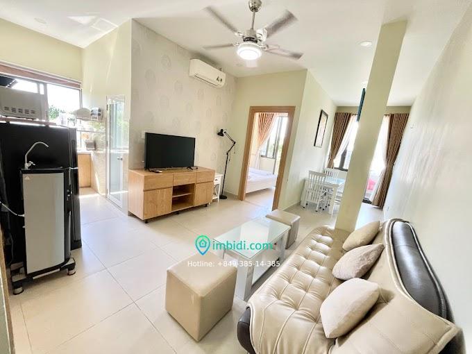 1 bedroom 1 bathroom 80m2 share balcony 12mil in Thao Dien D2
