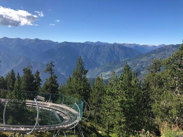Vistas desde la salida del Tobotronc (Naturlandia)