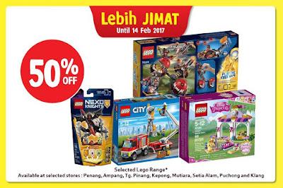 Tesco Malaysia LEGO Discount Sale Promo
