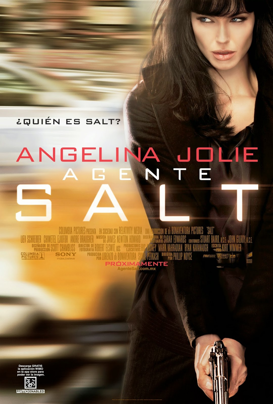 Salt: Poster: Angelina Jolie | A Constantly Racing Mind
