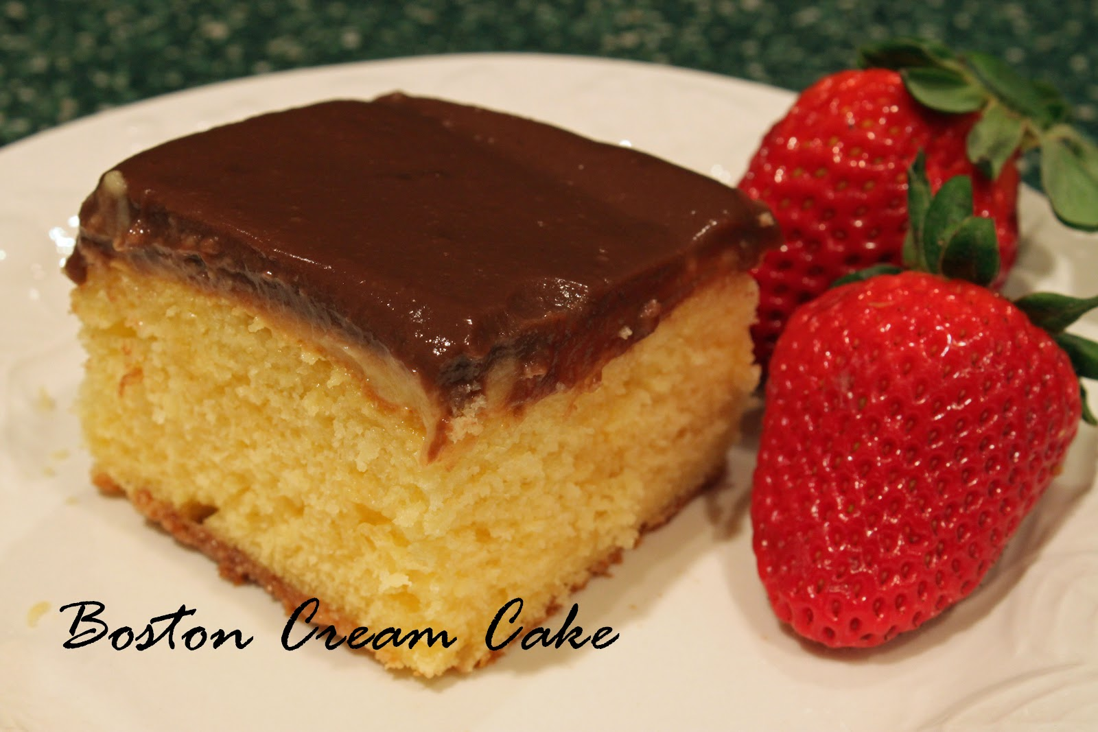 Boston Cream Cake Recipe Easy
