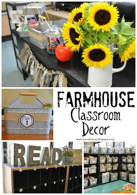 Classroom Theme Ideas For Upper Elementary : Farmhouse style classroom decor erica s ed ventures