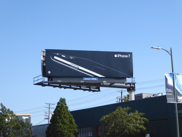 iPhone 7 billboard