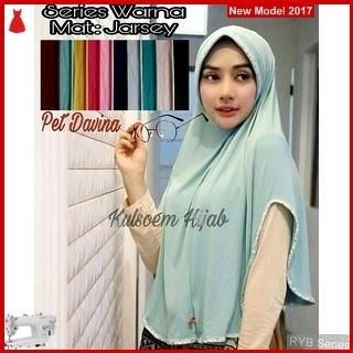 RYB109B Hijab Jilbab Cantik Pet Murah Davina BMG Online Shop