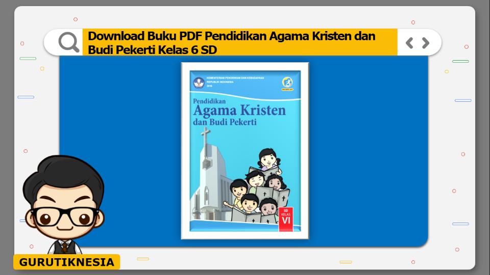 download buku pdf pendidikan agama kristen dan budi pekerti kelas 6 sd