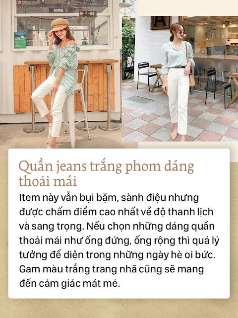 4 kiểu quần jean tha hồ diện vào mùa hè mà không lo nóng bức