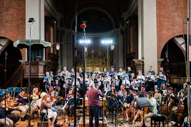 Recording Handel's Samson - John Butt and the Dunedin Consort (Photo Dunedin Consort)