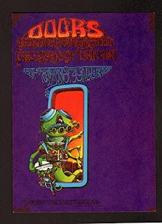 The Doors And Allmen Joy Original Concert Postcard.