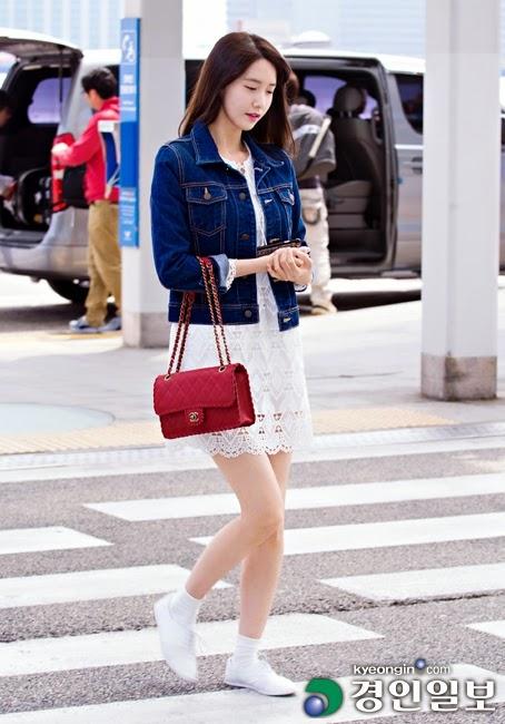 20 Airport Fashion Yoona Snsd Terlengkap Terbaru