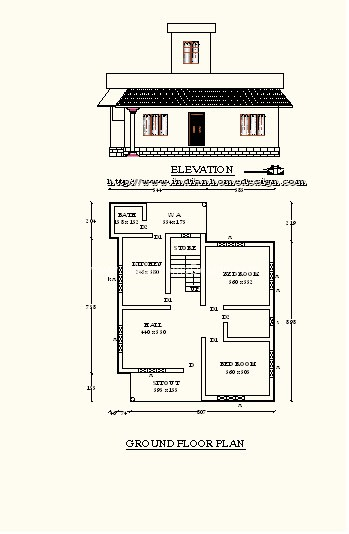Kerala Low Cost Model House Square Feet   Indian Home design    Kerala Low Cost Model House Square Feet