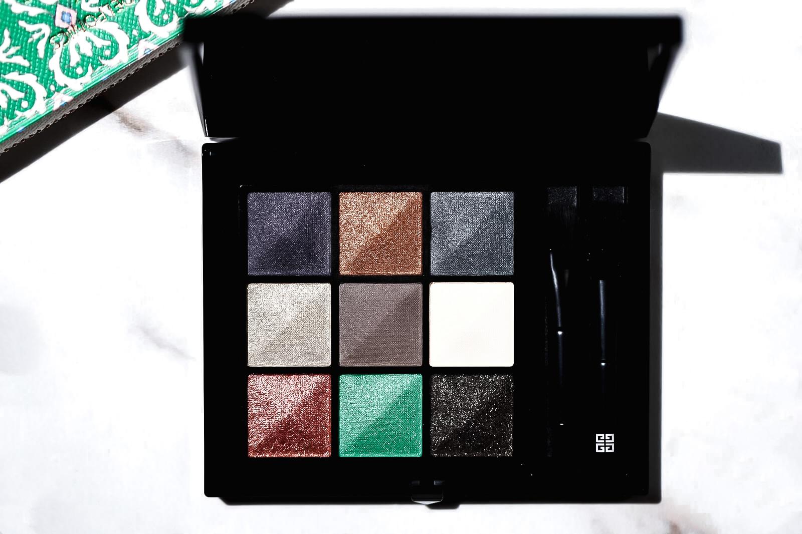 Le 9 De Givenchy Palette 9.02 swatch