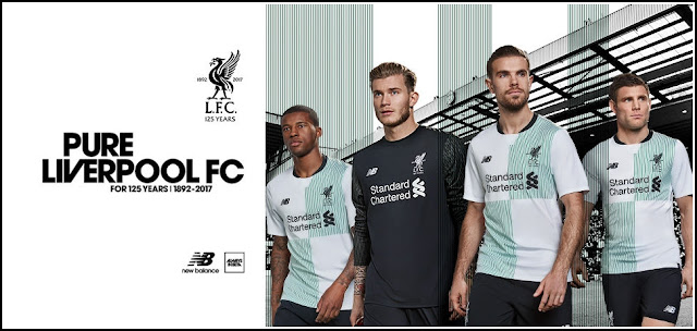 Limited-Edition 'Commemorative' Liverpool 17-18 Away Jersey Released