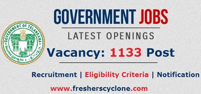 government of telangana recruitment 2018