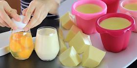 แจกสูตรทำเต้าหู้ไข่ แค่มีไข่กับนมถั่วเหลืองก็ทำได้ ทำง่ายแถมอร่อยไม่แพ้ยี่ห้อดัง