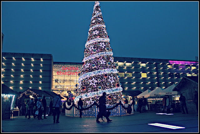 Christmas tree in Krakow