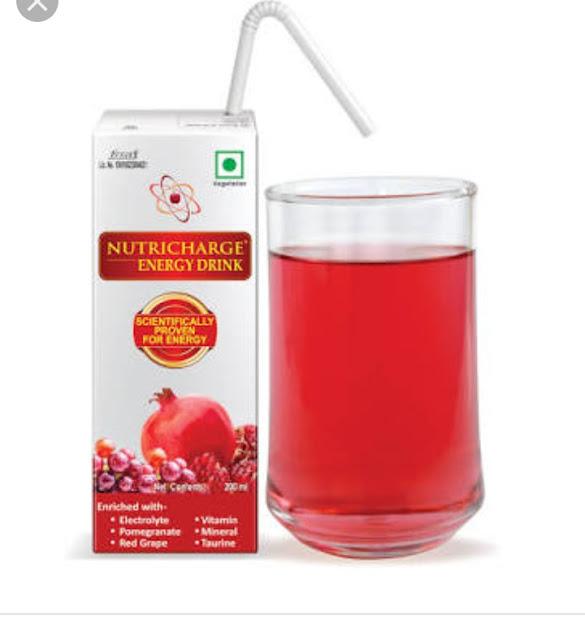 Nutricharge energy drink क्या है? ओर इसके फायदे।