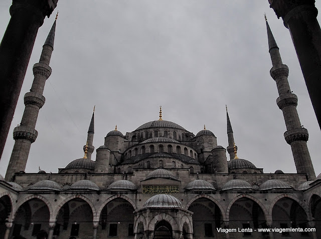 A Mesquita Azul em Istambul