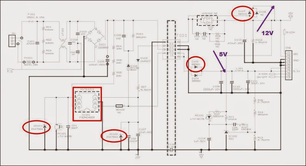 diagram of samsung plasma tv back